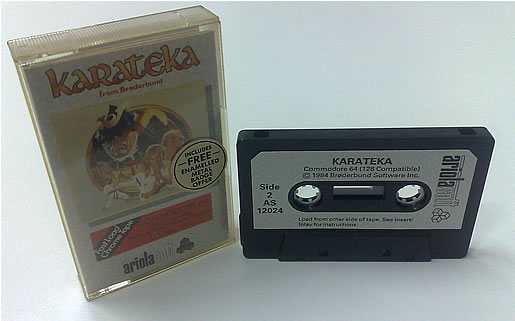 Cassete do game Karateka