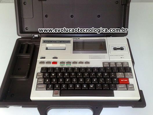 Epson HX-20 na maleta