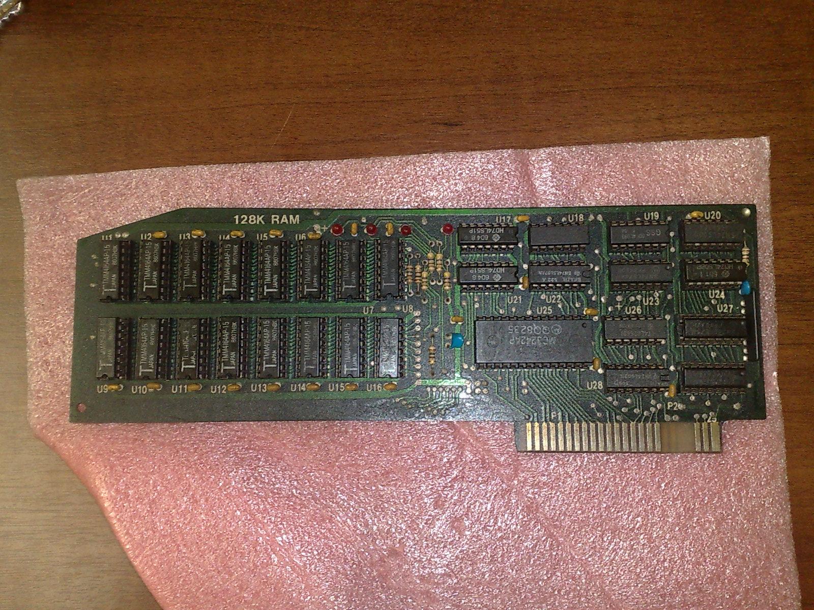Placa de expansão de memória para o Apple II