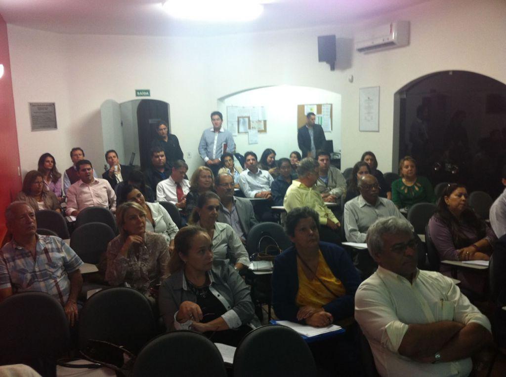 Segunda turma (2013) do Curso de Processo Eletrônico com Certificação Digital – ESA/Guarujá
