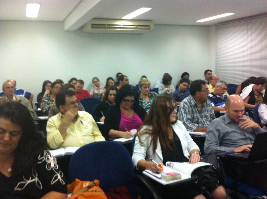 Segunda turma (2013) do Curso de Processo Eletrônico com Certificação Digital – ESA/Santos