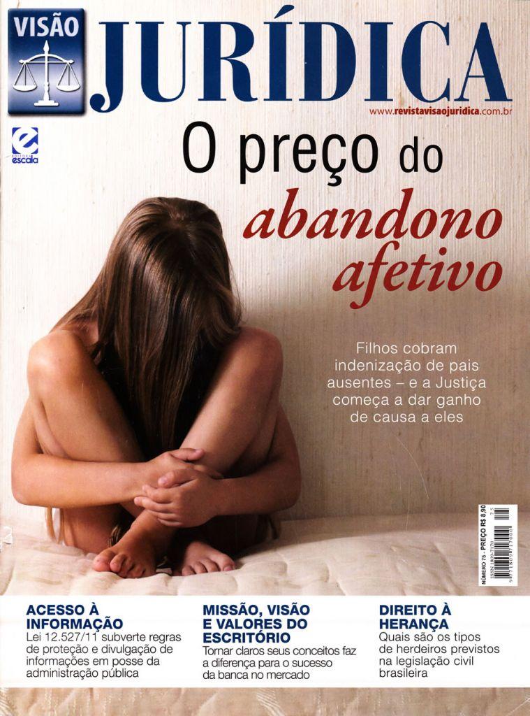 Capa da Revista Visão Jurídica - Número 75