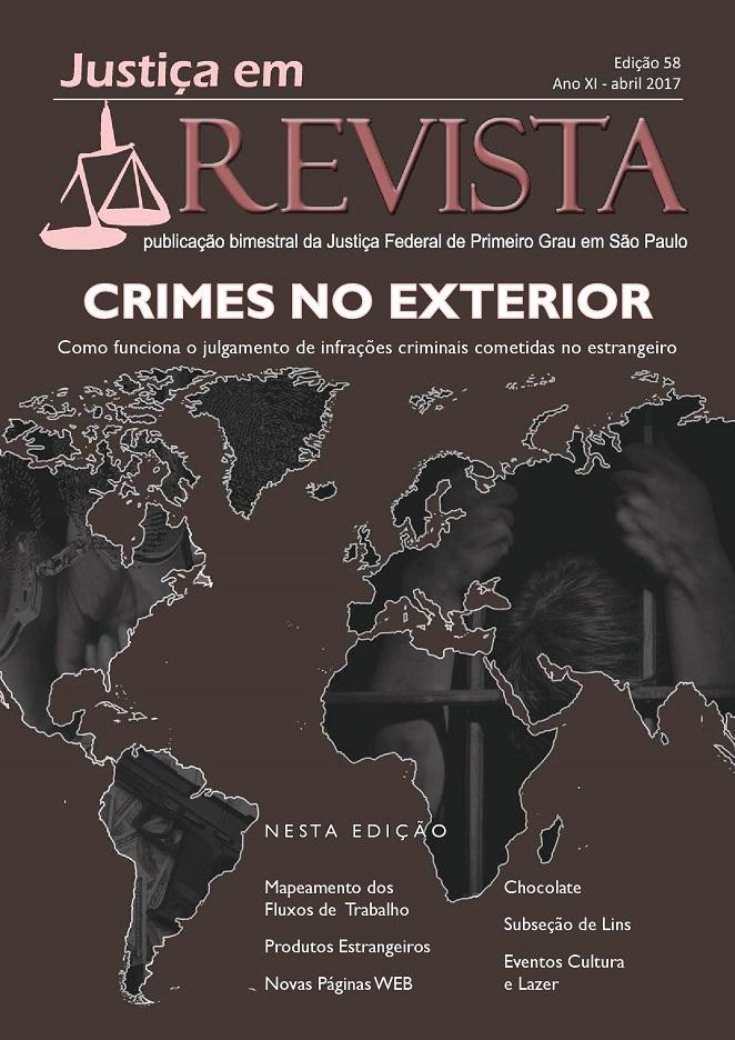 Capa da edição 58 da Revista da Justiça Federal de São Paulo